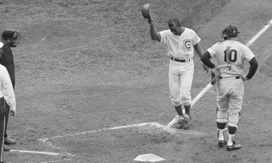 Ernie Banks, Bob Tillman